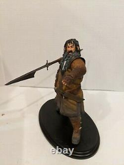 1/6 Weta LOTR The Lord of the Rings The Hobbit BIFUR the Dwarf 9 Statue