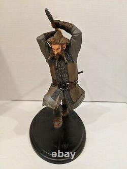 1/6 Weta LOTR The Lord of the Rings The Hobbit NORI the Dwarf Statue 11