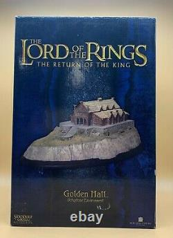 2004 Sideshow Weta Lord of the Rings ROTK Golden Hall Polystone Statue