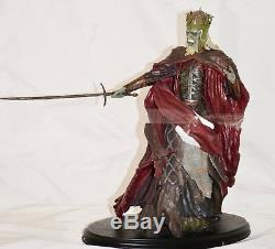 2005 Sideshow Lord of the Rings King of the Dead Statue Numbered New