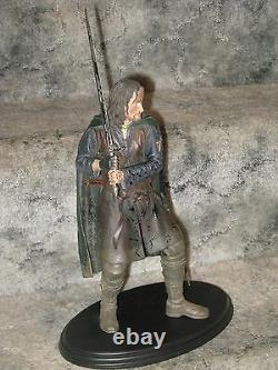 Aragorn Son of Arathorn RARE Sideshow Weta Strider statue Lord of the Rings LOTR