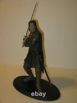 Aragorn polystone statue Sideshow Weta Lord of Rings Fellowship LOTR FOTR