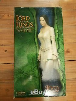 Arwen Lord of the Rings Weta Sideshow Statue Boxed