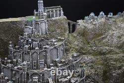 Cool The Lord of The Rings The Capital Of Gondor Minas Tirith Model Statue New