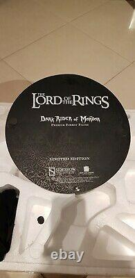 Dark Rider of Mordor Premium Format Sideshow! Lord of The Rings! Amazing piece