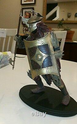 Easterling Soldier Statue Lord of the Rings LOTR Sideshow Weta Two Towers