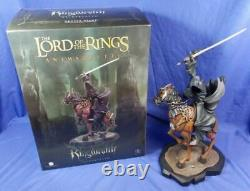 Gentle Giant Lord Of The Rings Ringwraith On Horse Animaquette Statue #014/1500