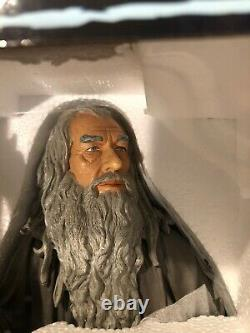 Gentle Giant Lord of the Rings Gandalf Bust 2889/3000 Statue LOTR New Sealed
