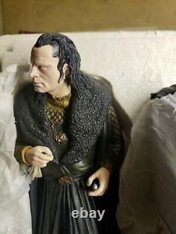 Grima Wormtongue Sideshow Weta Lord of the Rings Polystone Statue 320/2000 23cm