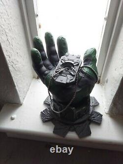Halo Cortana Statue / Figure Master Chief Hand, Halo Rings, AI Chip