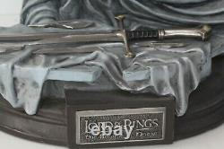 Herr der Ringe Lord of the Rings Statue The Shards of Narsil Sehr gut