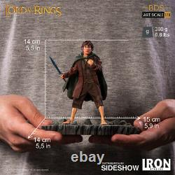 IRON STUDIOS Lord if the Rings LOTR Frodo Tenth 110 Scale Statue Figure NEW