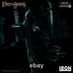 IRON STUDIOS Lord of Rings Attacking Nazgul/Ringwraith 1/10 Statue IN STOCK