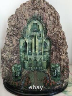 In stock The Lord of The Rings Lonely Mountain Door The Hobbit Resin Statue