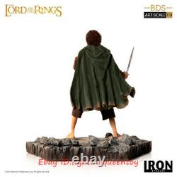 Iron Studios Frodo Baggins Lord Of The Rings Art Scale 1/10 Statue In Stock