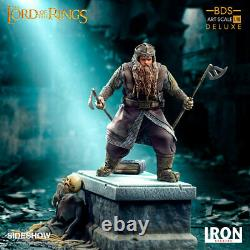 Iron Studios The Lord of the Rings Gimli Art Scale Statue Brand New and In Stock