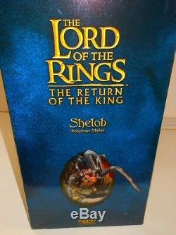 LORD OF THE RINGS Shelob SIDESHOW WETA Statue The Hobbit #1605/5000 NEW IN BOx
