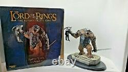 Lord Of The Rings Battle Troll of Mordor Polystone Statue by Sideshow Weta