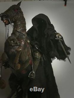 Lord Of The Rings Dark Rider of Mordor Nazgul on Steed 30 Figure Statue Toy