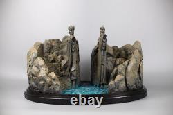 Lord Of The Rings Gate of Gondor The Argonath 11 Figure Statue Resin Hobbit Toy