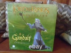 Lord Of The Rings Gentle Giant Gandalf Grey Maquette Statue Hobbit Animaquette