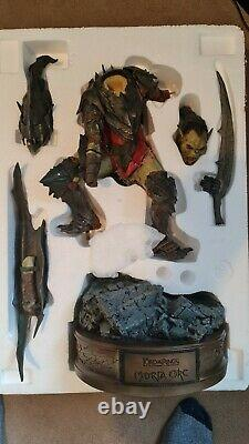 Lord Of The Rings Moria Orc Premium Format Exclusive Statue by Sideshow Weta