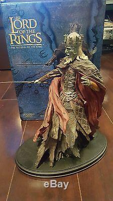 Lord Of The Rings Sideshow Weta The King Of The Dead statue