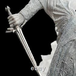 Lord Of The Rings THE WITCH-KING & FRODO Polystone Statue by Sideshow Weta