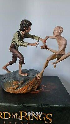 Lord Of The Rings The Crack of Doom Polystone Statue by Sideshow Weta