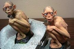 Lord Of The Rings Two Towers Professional Paint Gift Set Gollum Statue Figure