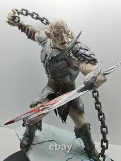 Lord of the Rings Azog Commander of Legions Polystone Statue Sideshow Weta