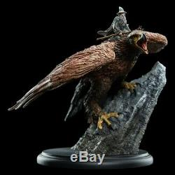 Lord of the Rings Gandalf on Gwaihir Mini Statue WETA LOTR Hobbit not sideshow