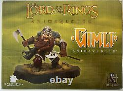 Lord of the Rings Gentle Giant Statue Bust Gimli #1488 of 1750