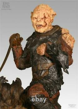 Lord of the Rings Gothmog on Warg Statue Sideshow Weta