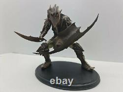 Lord of the Rings Moria Orc Swordsman Polystone Statue Sideshow Weta