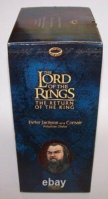 Lord of the Rings Pete Jackson As A Corsair Statue #0254/3500 Sideshow Weta NIB