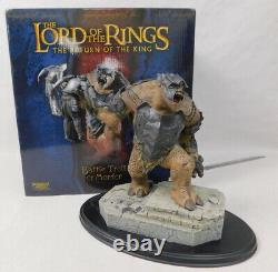 Lord of the Rings Sideshow Statue Battle Troll of Mordor 9346 Boxed 655/5500