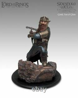 Lord of the ring Gimli Son of Gloin Sideshow Statue. Hobbit