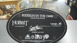 Lord of the ring The Hobbit RIDDLES IN THE DARK statue figure WETA