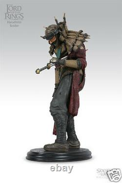 Lord of the rings sideshow weta statue 16 Haradrim Soldier NEW IN BOX