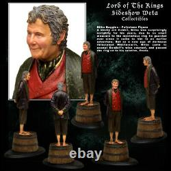 New! Sideshow Weta Lord Of The Rings Le Bilbo Baggins Statue #223/1000 Sold Out