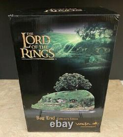 Rare Lord of The Rings Weta BAG END Collector's Edition Environment Statue