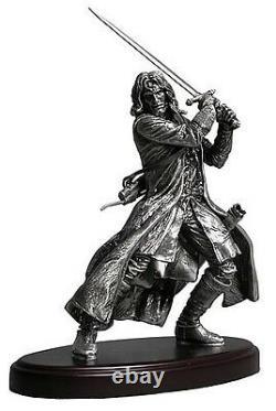 Rare NECA 24 Lord of the Rings Aragorn Amalgama Pewter Statue