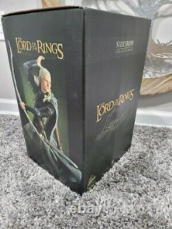 RareLord of the rings Legolas Statue Exclusive Sideshow Lotr/Hobbit low number