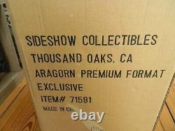 SIDESHOW ARAGORN LORD OF THE RINGS PREMIUM FORMAT Exclusive STATUE #239/850