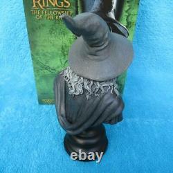 SIDESHOW WETA Herr der Ringe GANDALF THE GREY Büste Lord of the Rings STATUE