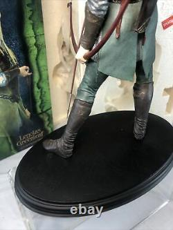 SIDESHOW WETA LORD OF THE RINGS LEGOLAS GREENLEAF LOTR STATUE Complete