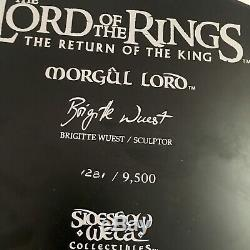 SIDESHOW WETA Lord of the Rings MORGUL LORD Witchking LE Statue VERY RARE