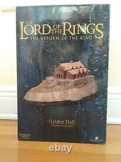 SIDESHOW Weta Lord of the Rings Golden Hall Diorama #3289/4000