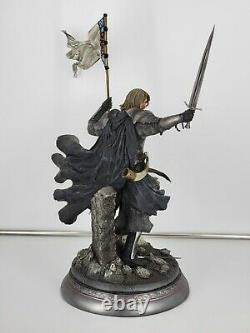 Sideshow Collectibles Lord Of The Rings Boromir Statue Fellowship Gondor 095/500